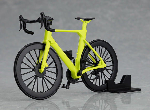 figma+PLAMAX Road Bike (Lime Green) main pose