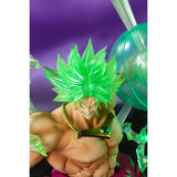 P Bandai Figuarts Zero SUPER SAIYAN BROLY-THE BURNING BATTLE- -Event Exclusive Color Edition- close up pose