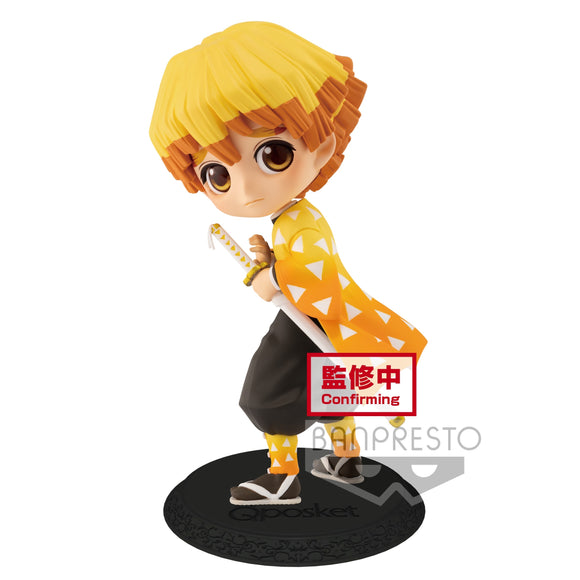 Banpresto Q Posket Demon Slayer: Kimetsu no Yaiba - ZENITSU AGATSUMA ver A main pose