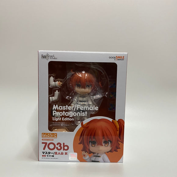 Nendoroid 703b Fate/Grand Order - Master/Female Protagonist: Light Edition front of the box