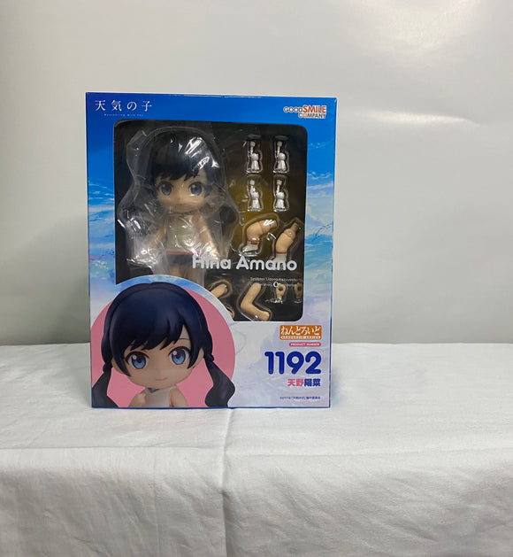 Nendoroid 1192 Weathering with You - Hina Amano front of the box