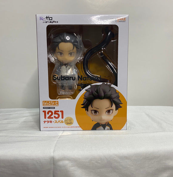 Nendoroid 1251 Re:ZERO -Starting Life in Another World- - Subaru Natsuki