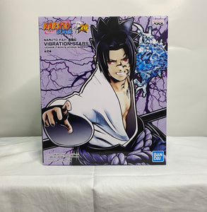 Banpresto - Naruto Shippuden Vibration Stars B : Sasuke Uchiha front of the box