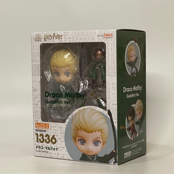 Nendoroid 1336 Harry Potter - Draco Malfoy: Quidditch Ver. main box