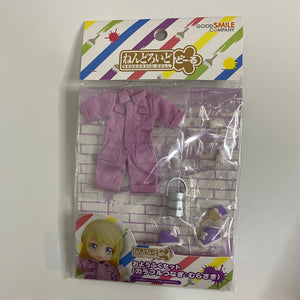 Nendoroid Doll: Outfit Set (Colorful Coveralls - Purple) front of the package