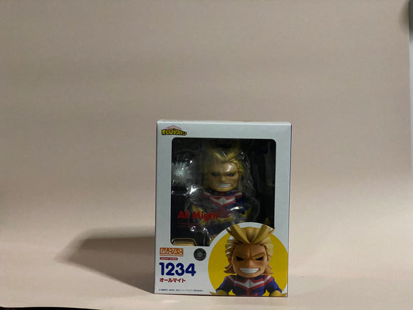 Nendoroid 1234 My Hero Academia - All Might front of the box
