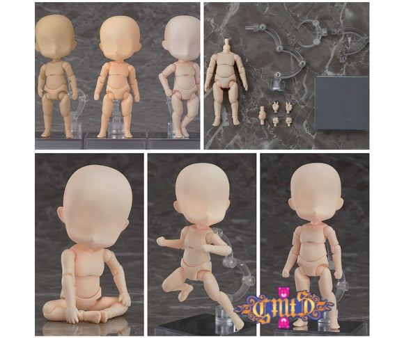 Nendoroid Doll archetype: Boy (Cream) collage