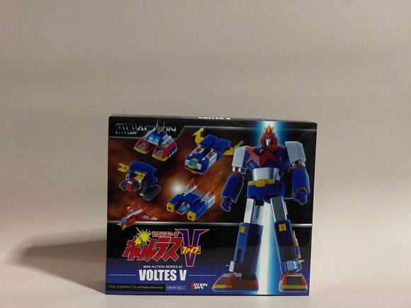 Action Toys - Mini Action Series 02 - Voltes V front of the box