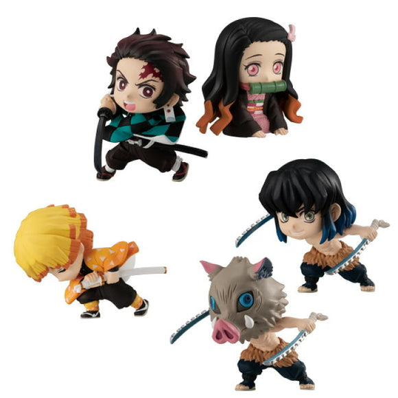 Bandai - Adverge Motion Demon Slayer : Kimetsu No Yaiba (Set of 5) main pose