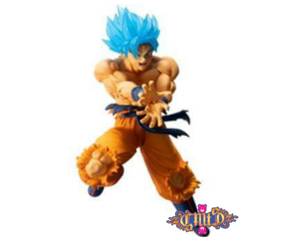 Banpresto -  Ichiban Kuji Dragon Ball - SSJ God Blue Goku main pose