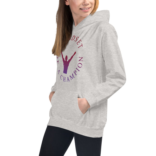 Mindset of a Champion Kids Hoodie