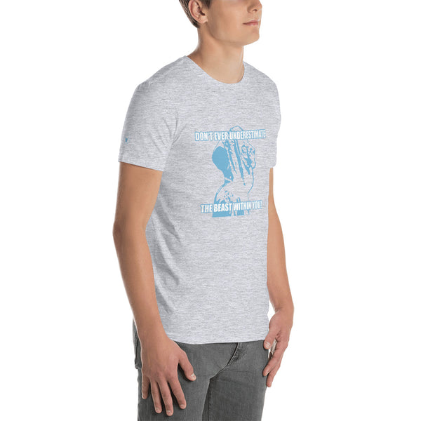 ChasDre Mindset of a Champion Beast Short-Sleeve Unisex T-Shirt