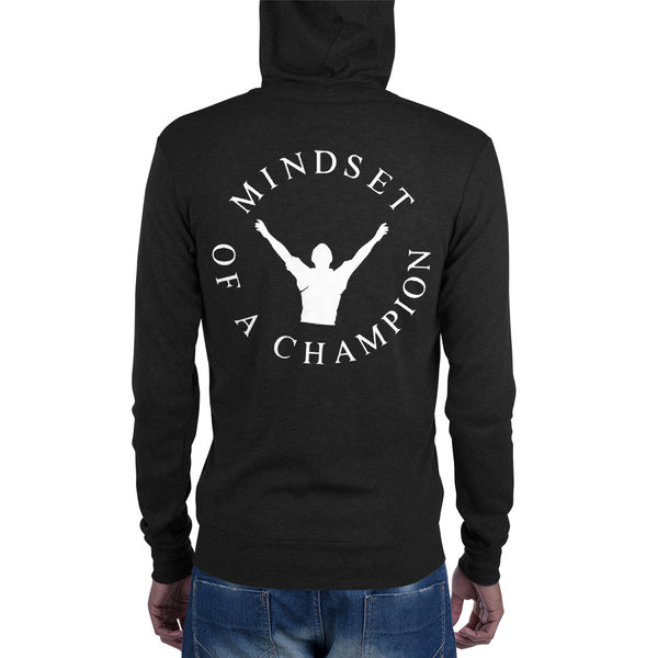 ChasDre Mindset of a Champion Unisex zip hoodie
