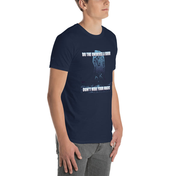 ChasDre Mindset of a Champion Don't Hide Your Magic Short-Sleeve Unisex T-Shirt