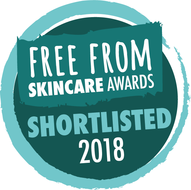 Free From Skincare Awards Shortlisted 2018