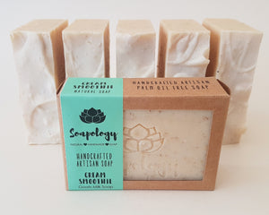 Cream Smoothie goats milk soap