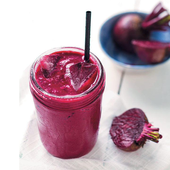 Παντζάρια και mix μούρα smoothie | Beetroot & mix berries smoothie