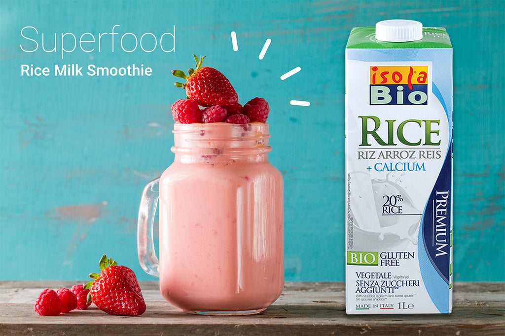 Superfood Smoothie με γάλα ρυζιού | Superfood Rice Milk Smoothie
