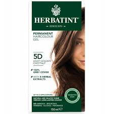 HERBATINT-PERMANENT HAIRCOLOUR GEL 5D LIGHT GOLDEN CHESTNUT 150ML