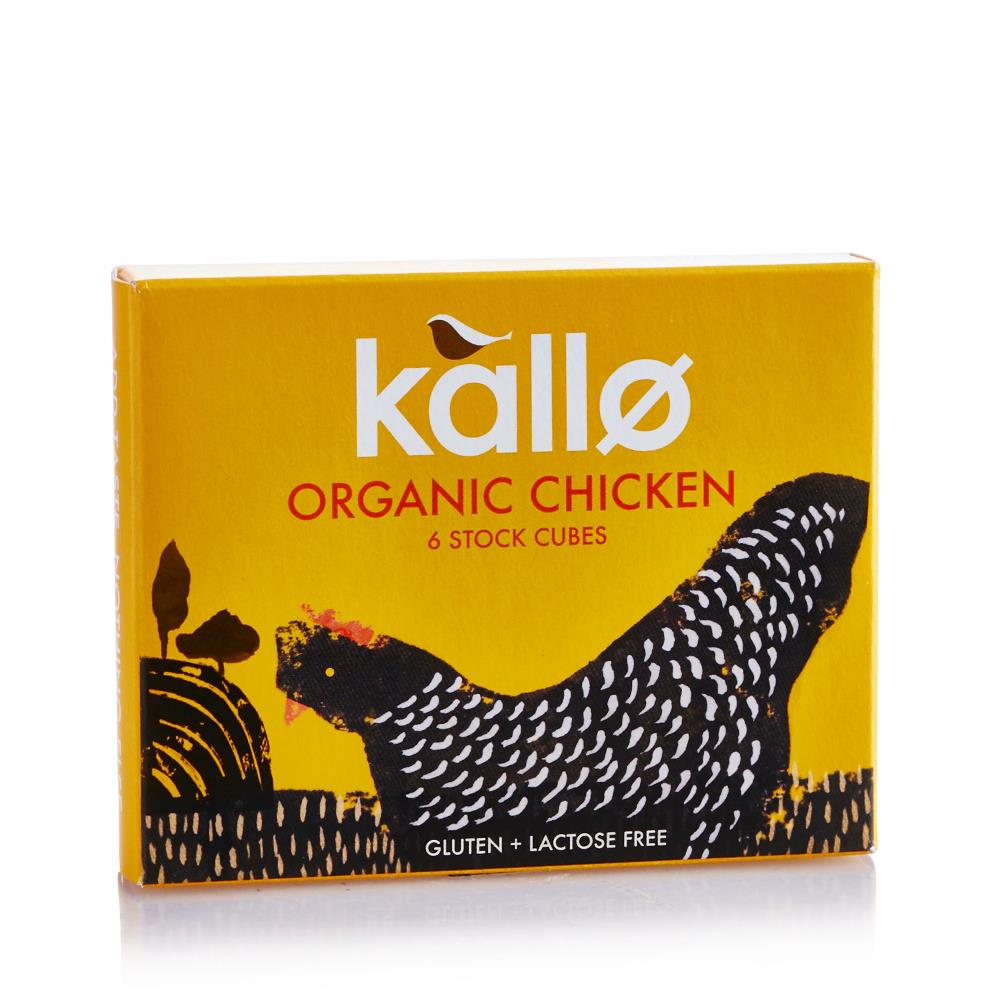 KALLO CHICKEN STOCK 6 CUBES 66g