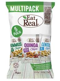 EATREAL CHIPS MULTIPACK 116g(4x22g + 1x25g)