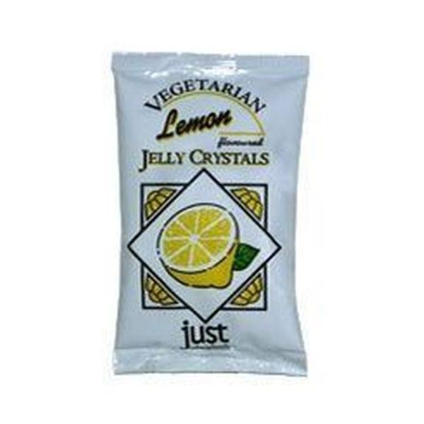 JUST WHOLEFOODS LEMON JELLY CRYSTALS 85G