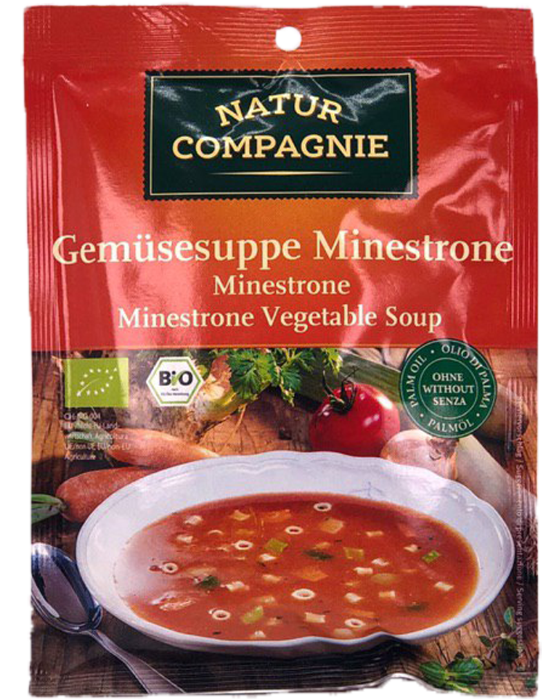 Natur Compagnie Organic Minestrone Vegetable Soup (50g)