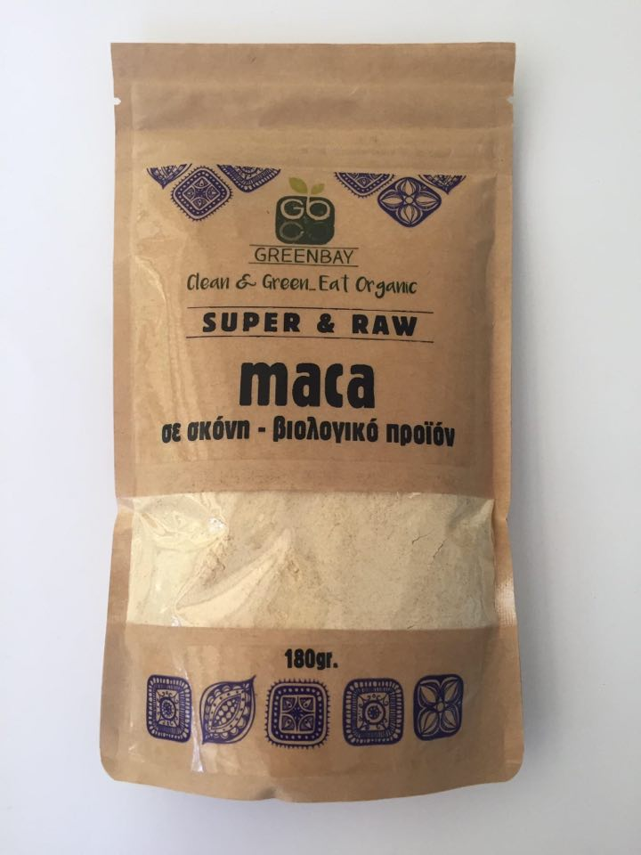 GREENBAY ORGANIC MACA POWDER 180g