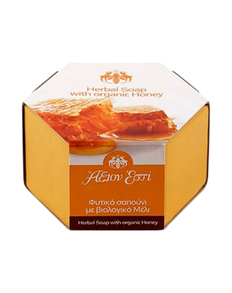 Axion Esti Herbal Soap with Organic Honey (100g)