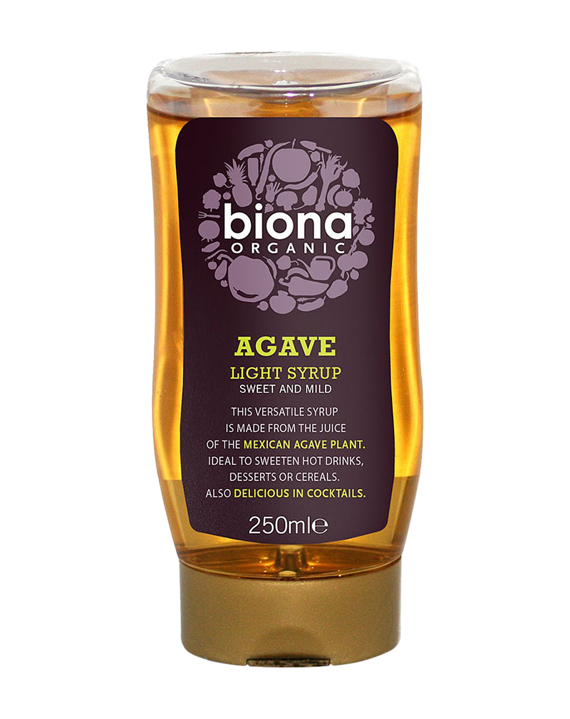 Biona Organic Agave Syrup  Light (250ml)