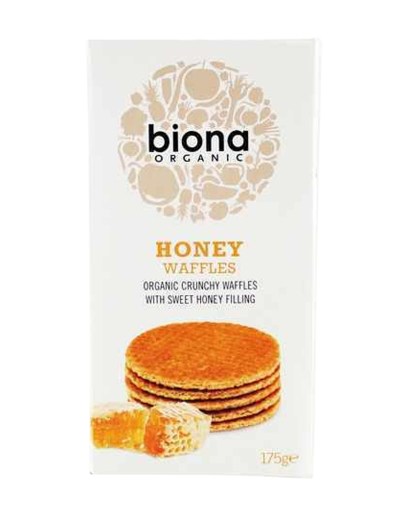 Biona Organic Honey Waffles (175g)