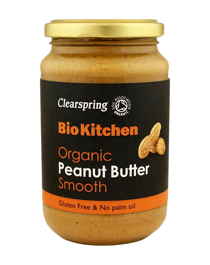 Clearspring Bio Kitchen Organic Peanut Butter - Smooth (350g)