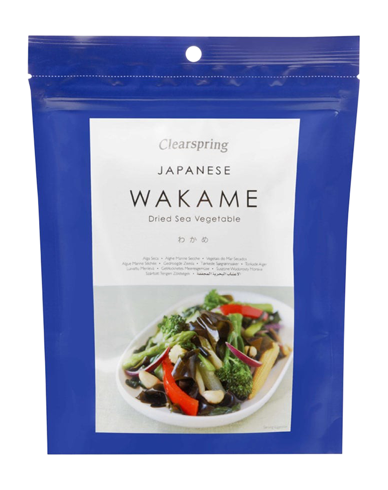 Clearspring Japanese Wakame Dried Sea Vegetable (50g)