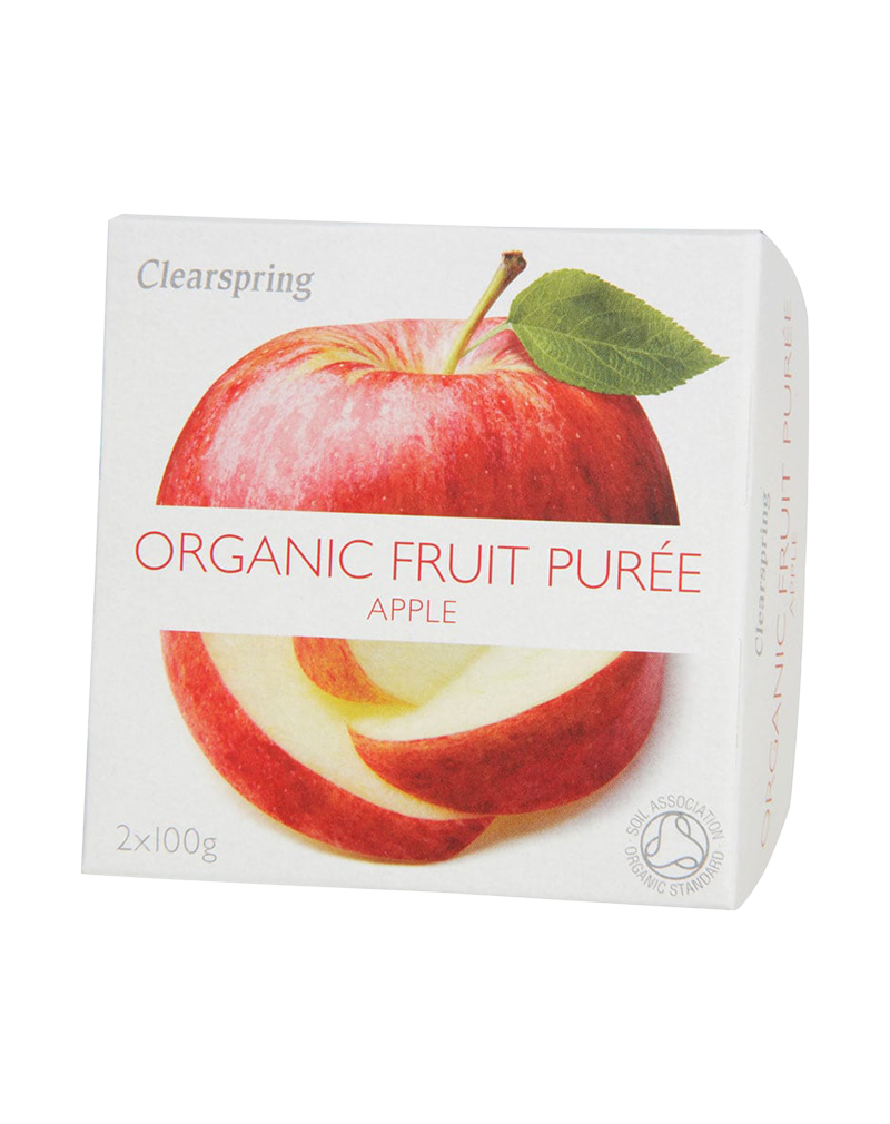 Clearspring Organic Fruit Purée - Apple (200g)