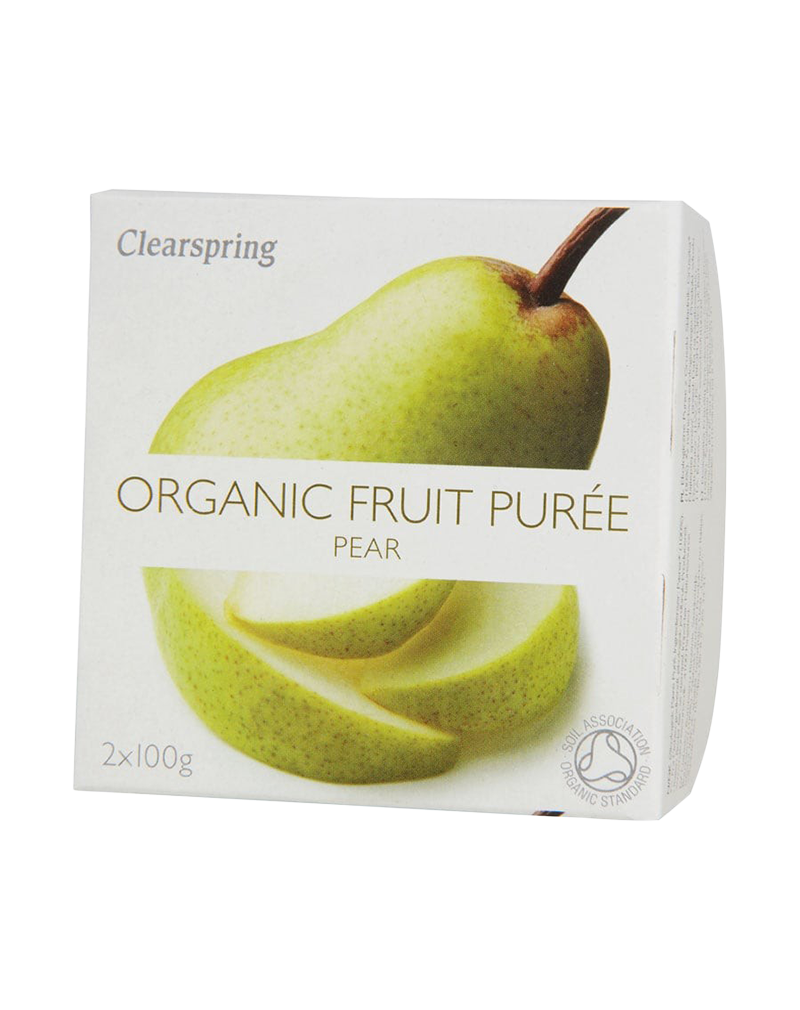 Clearspring Organic Fruit Purée - Pear (2 x 100g)