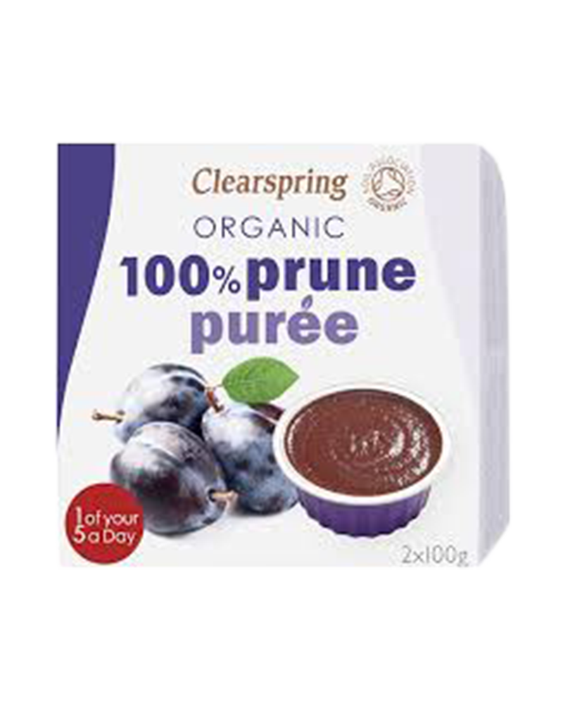 Clearspring Organic Fruit Purée 100% Prune (200g)