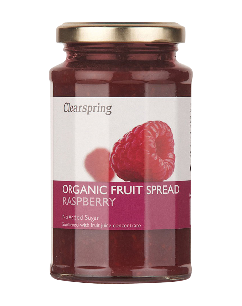 Clearspring Organic Fruit Spread-Raspberry (290g)