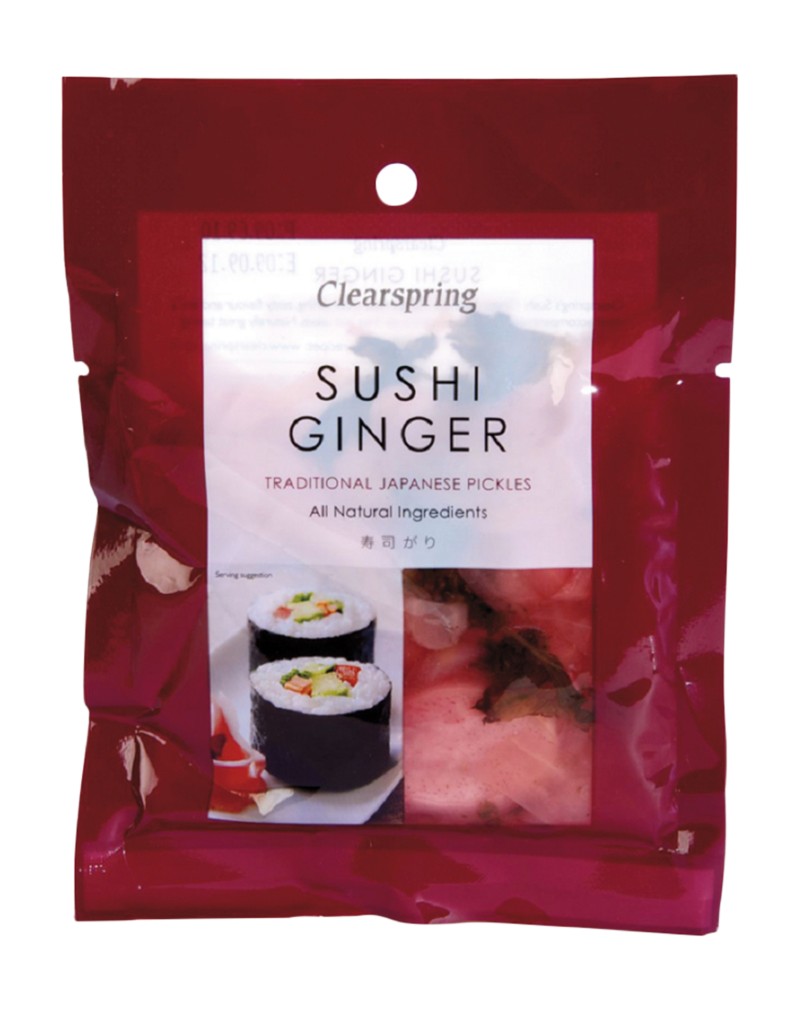 Clearspring Organic Japanese Sushi Ginger Pickle (50g)