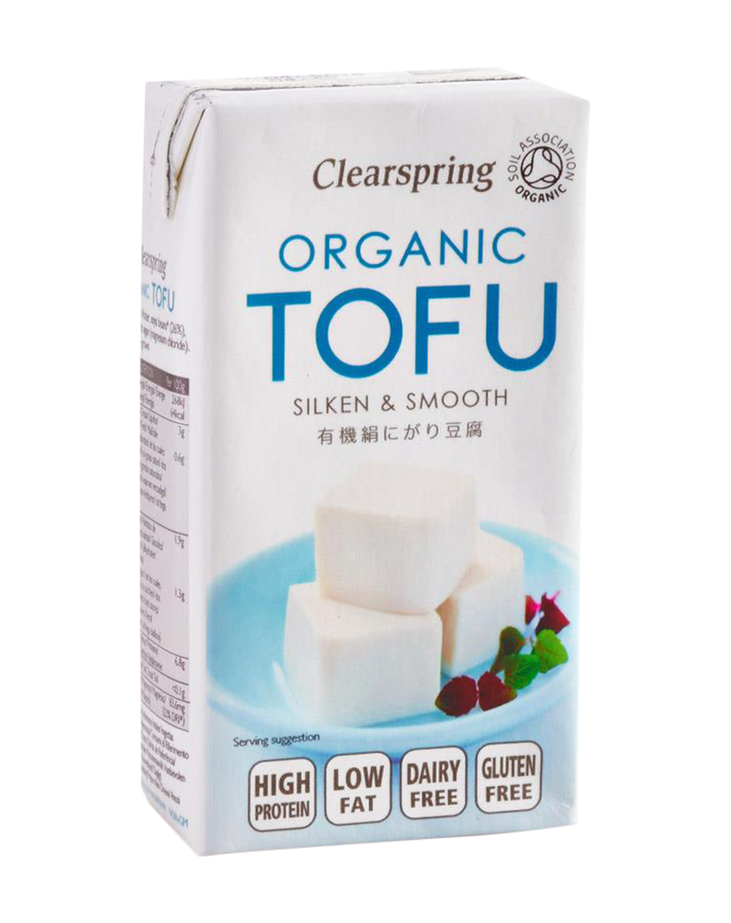 Clearspring Organic Japanese Tofu Silken & Smooth (300g)