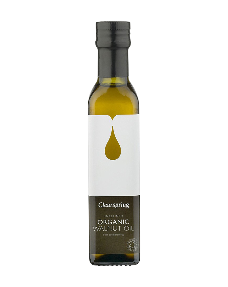 Clearspring Organic Toasted Walnut Oil  (250ml)