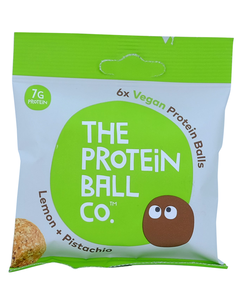 The Protein Ball Co. Lemon & Pistachio Balls 45g