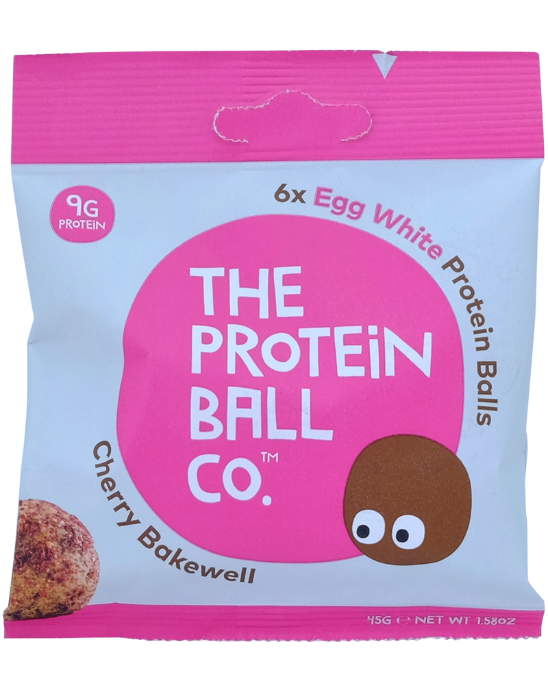 The Protein Ball Co. Cherry & Almonds Balls 45g