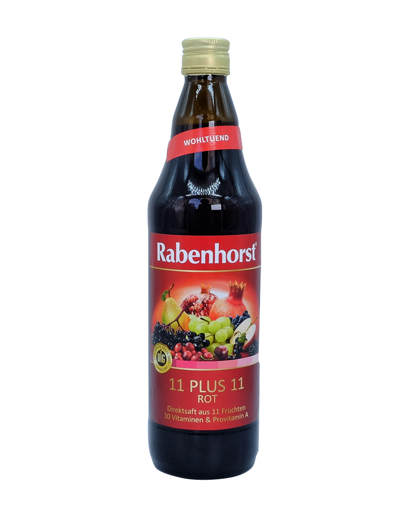 Rabenhorst Organic 11 plus 11 Red Juice (750ml)