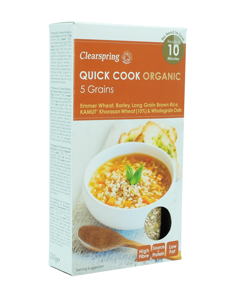Clearspring Quick Cook Organic - 5 Grains (250g)