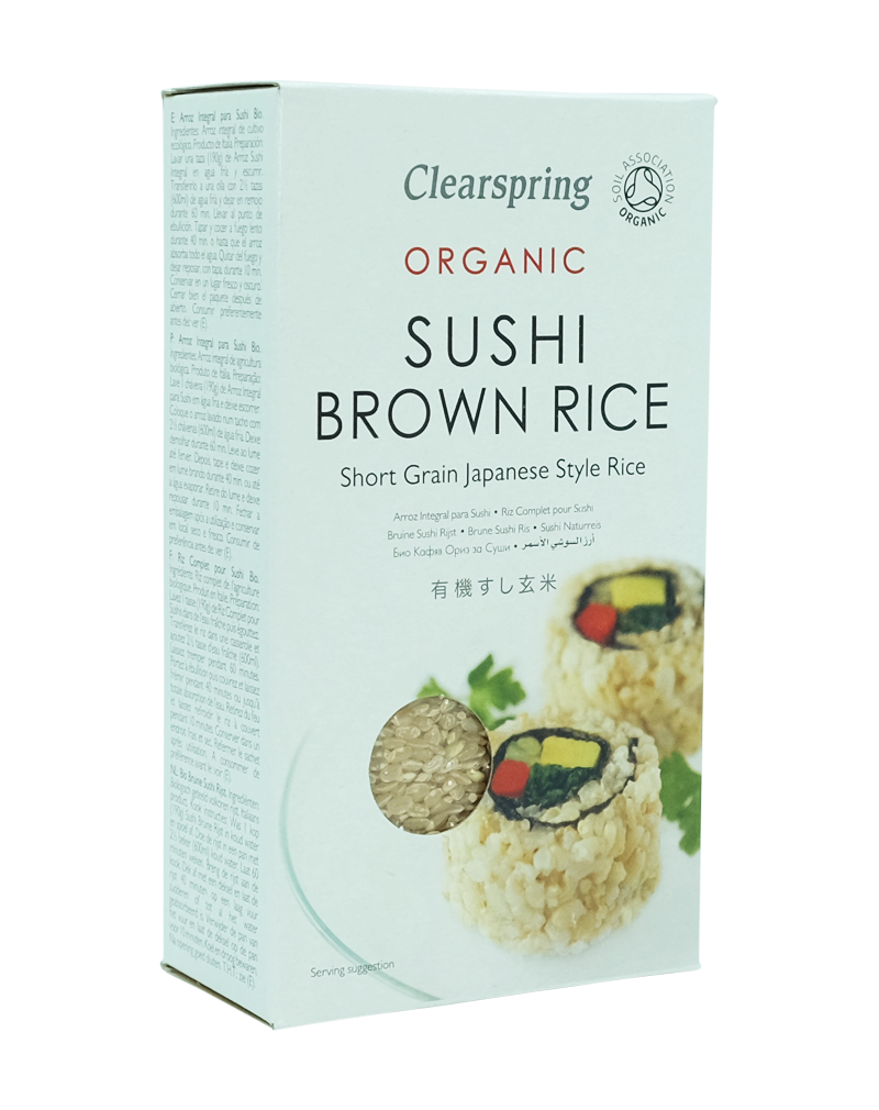 Clearspring Organic Sushi Brown Rice (500g)