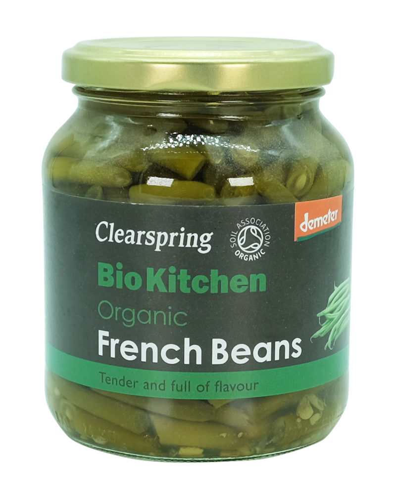 Clearspring Bio Kitchen Organic / Demeter French Beans 340g