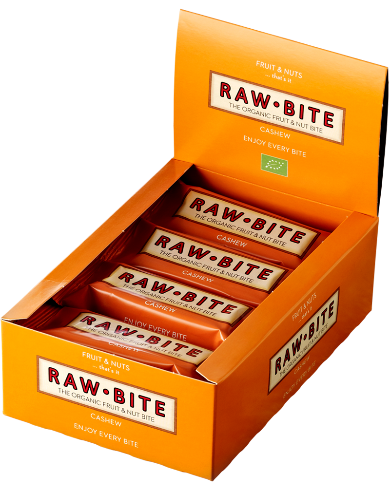 Raw-Bite Organic Fruit & Nut Bite Cashew (50g)