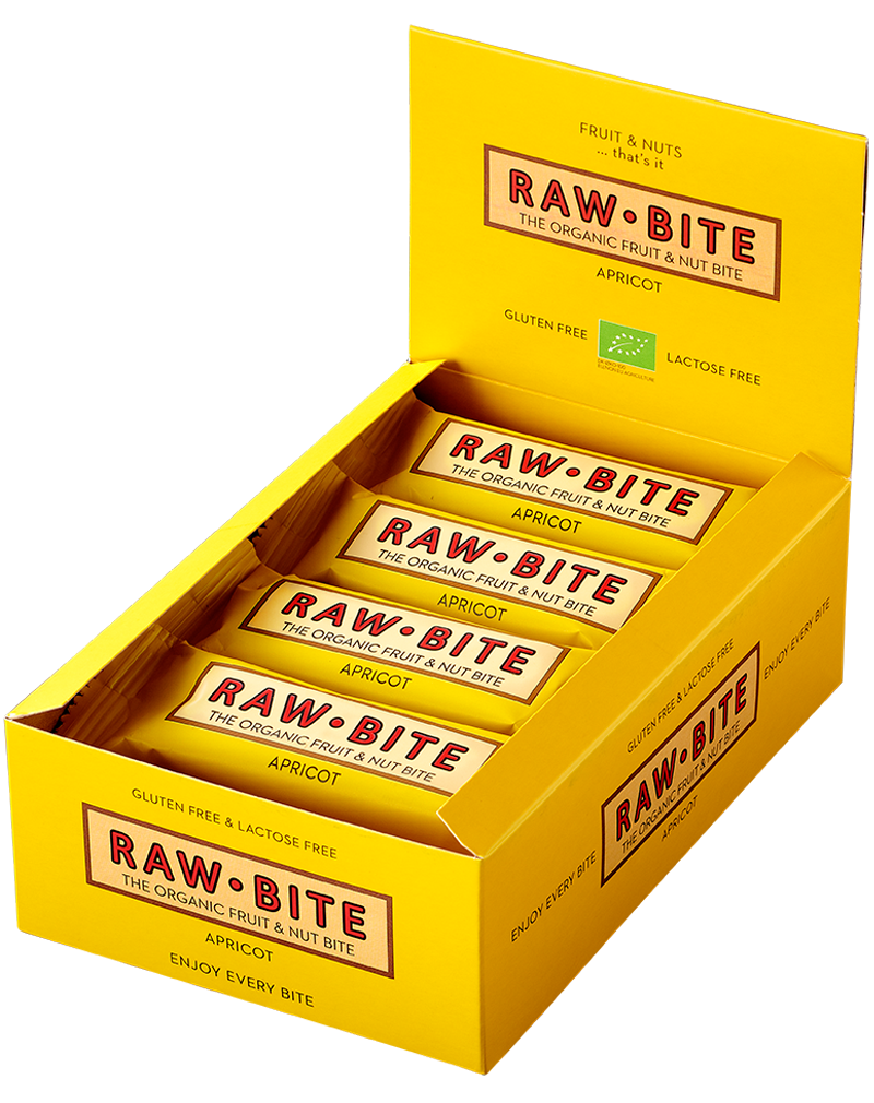 Raw-Bite Organic Fruit & Nut Bite Apricot (50g)