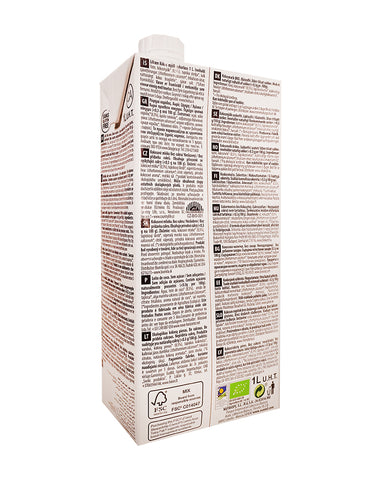 Ecomil Organic Coconut Milk Sugar-Free with Calcium (1L)