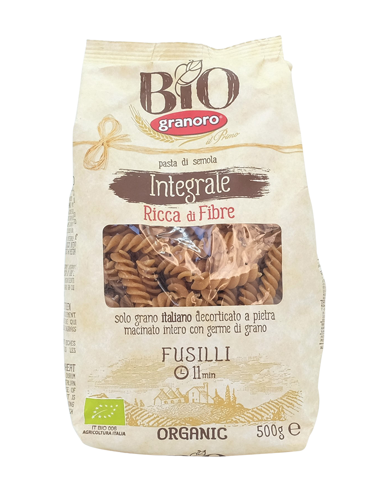 Granoro Wholewheat Fusilli 500g